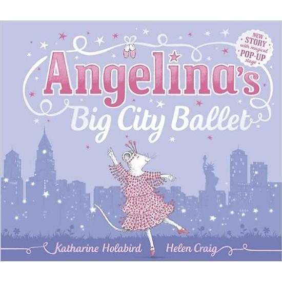 [Download sách] Angelina's Big City Ballet (Hardcover)