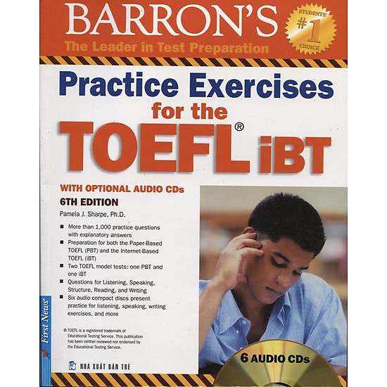 Practice Exercises For The TOEFL iBT (6th Edition) – Kèm CD