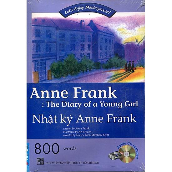 [Download sách] Happy Reader - Nhật Ký Anne Frank (Kèm CD)