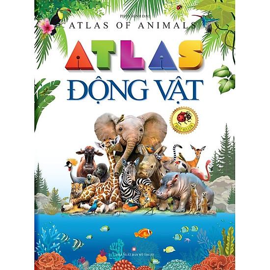 Atlas Động Vật (Sách Màu)