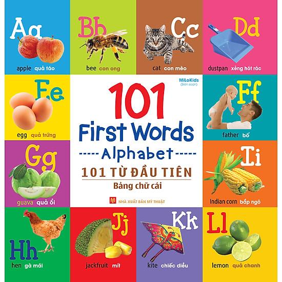 101 First Words – Alphabet (101 Từ Đầu Tiên – Bảng Chữ Cái)