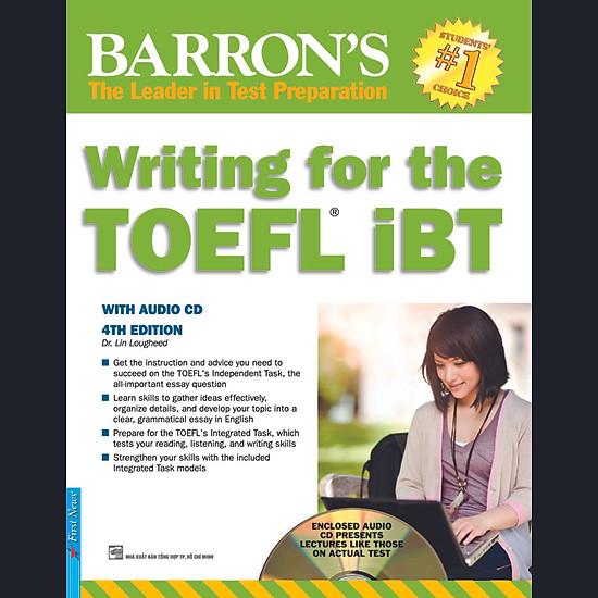 Barron′s – Writing For The TOEFL IBT (Kèm CD)