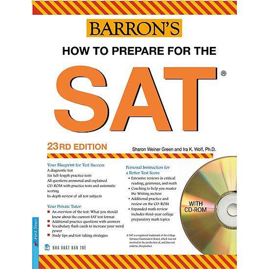 Barron′s SAT – 23RD Edition (Kèm 1 CD)