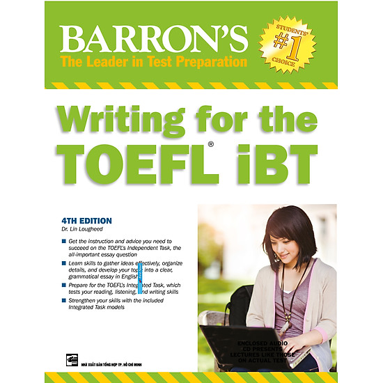 Barron's Writing For The Toefl IBT 4th (Không CD)