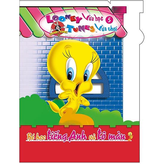 Hình ảnh download sách Looney Tunes Vừa Học Vừa Chơi (Tập 5) - Bé Học Tiếng Anh Và Tô Màu