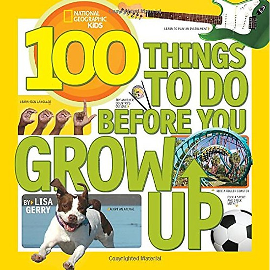[Download Sách] 100 Things To Do Before You Grow Up