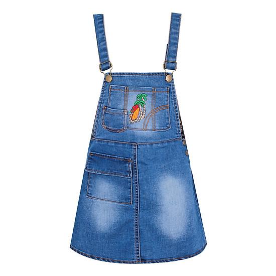 Yếm Jeans Bé Gái VTA Kids BG61002