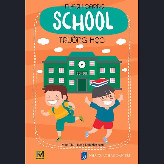 Flashcard School – Trường Học