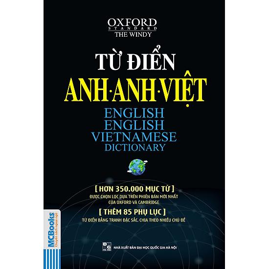 Từ Điển Anh – Anh – Việt (Hơn 350.000 Mục Từ)