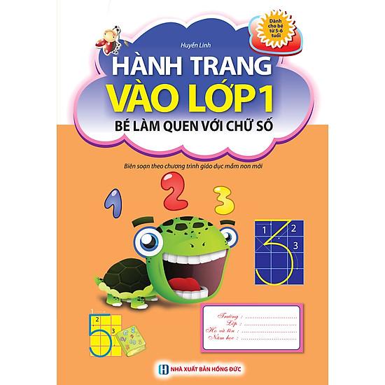 Hành Trang Vào Lớp 1 - Bé Làm Quen Với Chữ Số