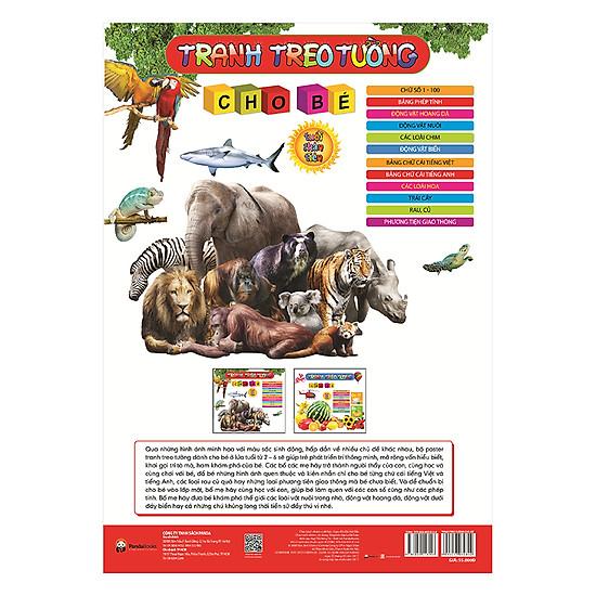 [Download Sách] Tranh Treo Tường - Dùng Cho Trẻ 2 – 6 Tuổi