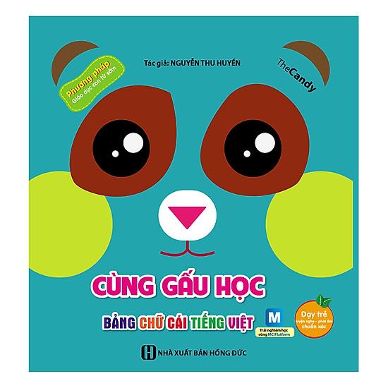 Cùng Gấu Học Tiếng Anh - Bảng Chữ Cái Tiếng Việt
