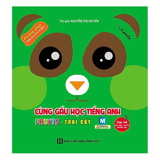 [Download Sách] Cùng Gấu Học Tiếng Anh - Trái Cây