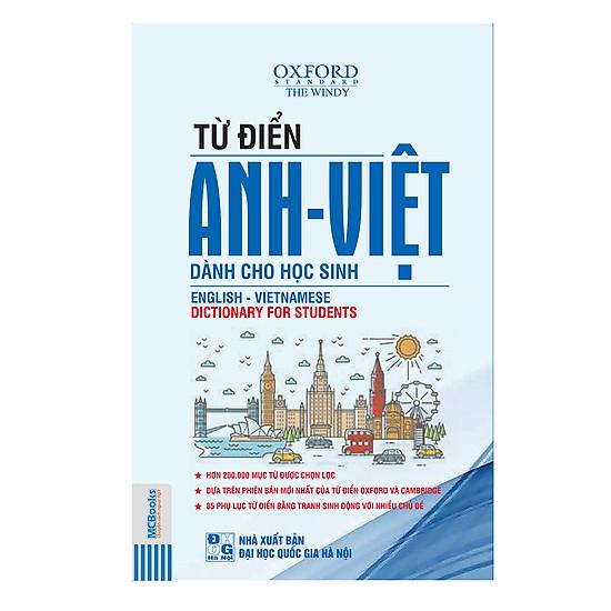 Từ Điển Anh – Việt (Bìa Mềm Trắng)