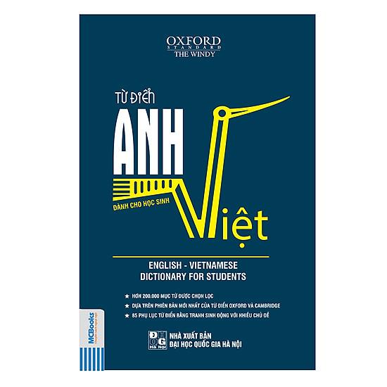 Từ Điển Anh – Việt (Bìa Mềm Xanh Đậm)