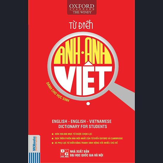 Từ Điển Anh – Anh – Việt (Bìa Mềm Đỏ)