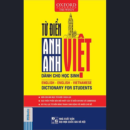 Từ Điển Anh – Anh – Việt (Bìa Mềm Vàng)