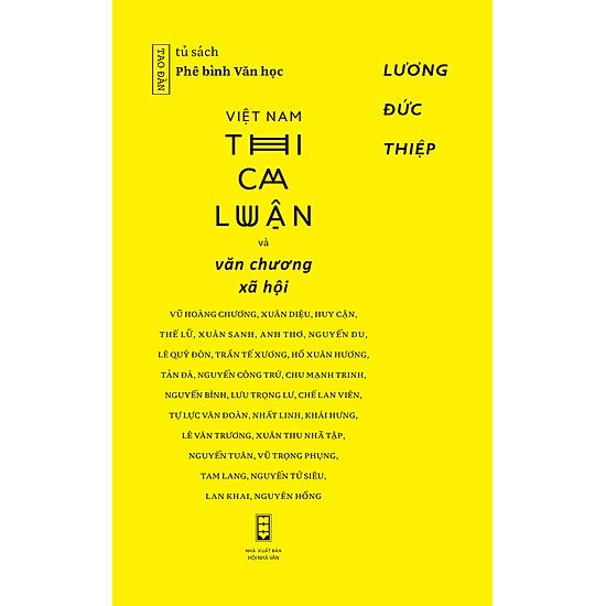 Việt Nam Thi Ca Luận Và Văn Chương Xã Hội