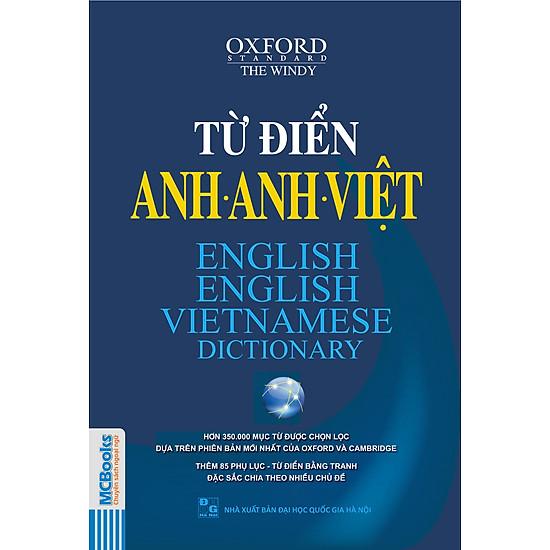 Từ Điển Anh – Anh – Việt (Hơn 350.000 Từ)