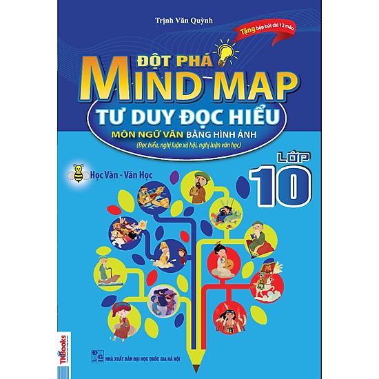 Đột Phá Mindmap – Tư Duy Đọc Hiểu Môn Ngữ Văn Bằng Hình Ảnh Lớp 10