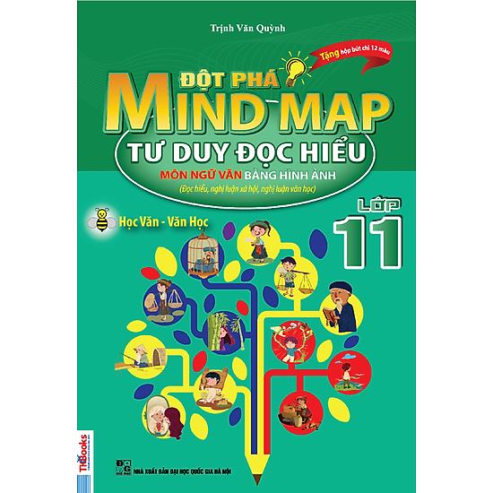 Đột Phá Mindmap – Tư Duy Đọc Hiểu Môn Ngữ Văn Bằng Hình Ảnh Lớp 11