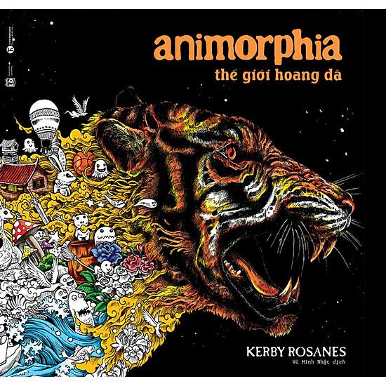 [Download sách] Animorphia - Thế Giới Hoang Dã (Sách Tô Màu Dành Cho Người Lớn)