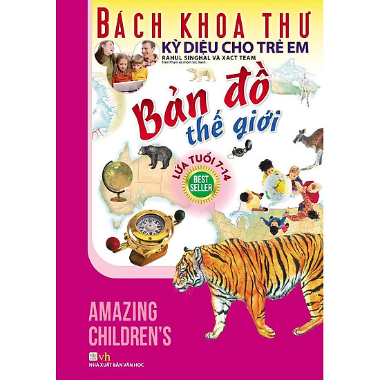 [Download sách] Bách Khoa Thư Kỳ Diệu Cho Trẻ Em - Bản Đồ Thế Giới