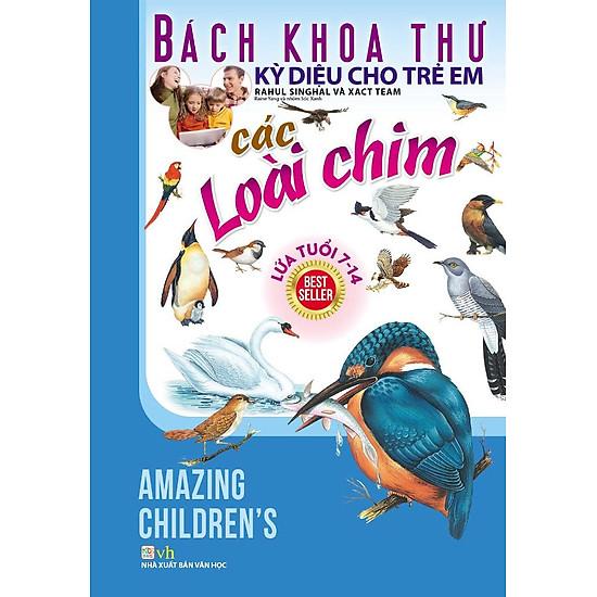 Bách Khoa Thư Kỳ Diệu Cho Trẻ Em - Các Loài Chim - EBOOK/PDF/PRC/EPUB