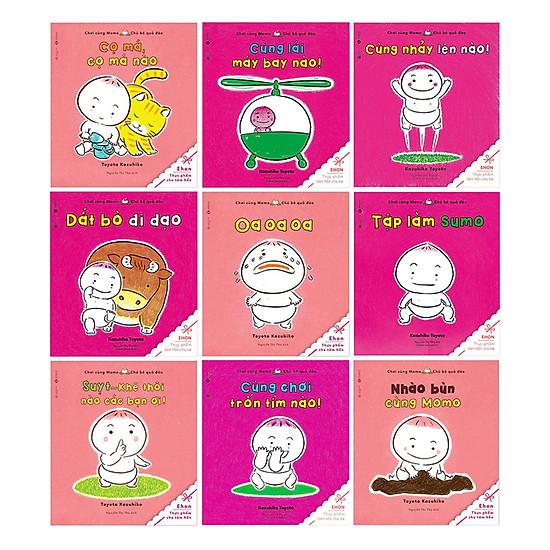 Hình ảnh download sách Combo Momo - Chú Bé Quả Đào (Bộ 10 Quyển)
