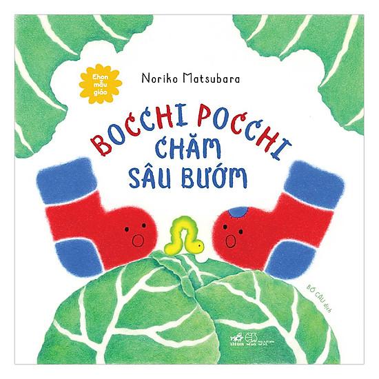 [Download Sách] Bocchi Pocchi Chăm Sâu Bướm - Ehon Mẫu Giáo