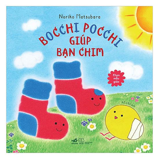 [Download sách] Bocchi Pocchi Giúp Bạn Chim - Ehon Mẫu Giáo