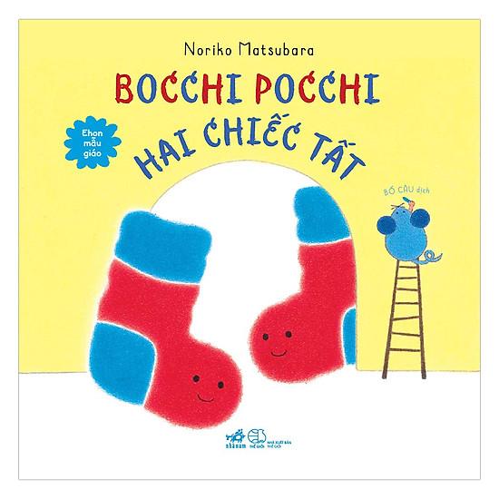 [Download Sách] Bocchi Pocchi Hai Chiếc Tất - Ehon Mẫu Giáo