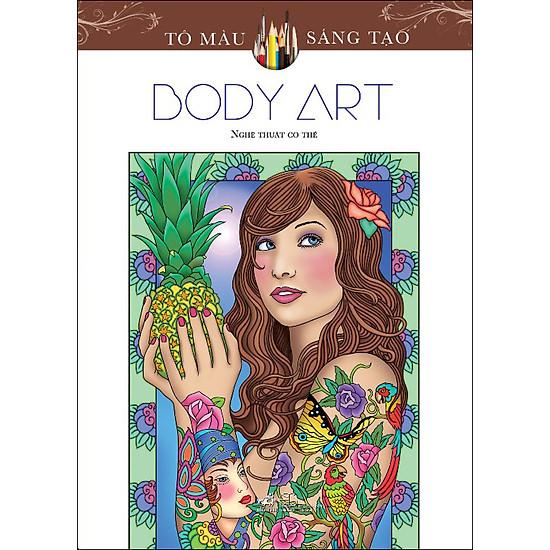 [Download Sách] Tô Màu Sáng Tạo - Body Art