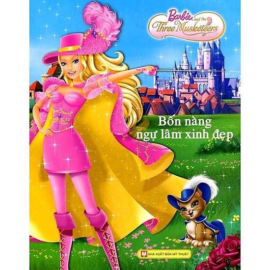 Download sách Barbie - Bốn Nàng Ngự Lâm Xinh Đẹp
