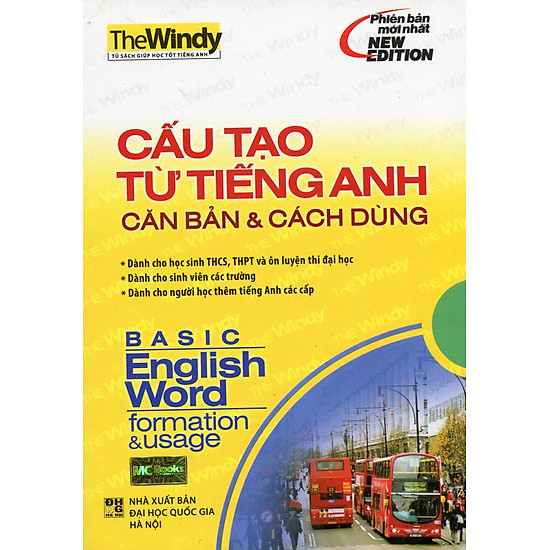 [Download sách] Cấu Tạo Từ Tiếng Anh Căn Bản Và Cách Dùng