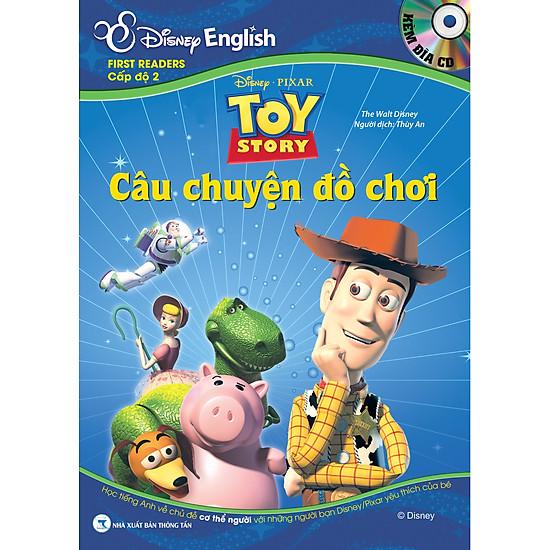 Disney English – Cấp Độ 2: Câu Chuyện Đồ Chơi (Kèm CD)