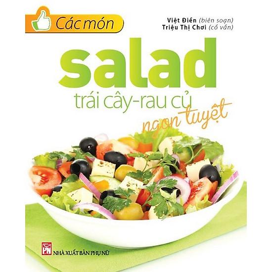 Các Món Salad Trái Cây – Rau Củ Ngon Tuyệt