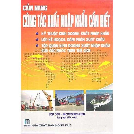 [Download Sách] Cẩm Nang Công Tác Xuất Nhập Khầu Cần Biết