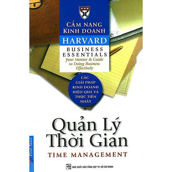 Cẩm Nang Kinh Doanh – Quản Lý Thời Gian (Tái Bản)