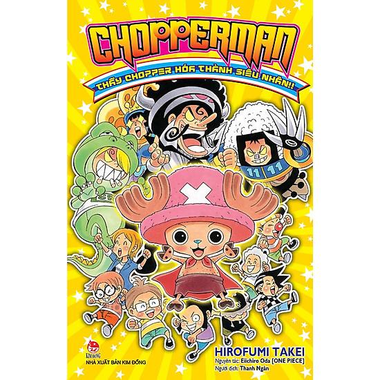 Chopperman – Thầy Choper Hóa Thành Siêu Nhân!