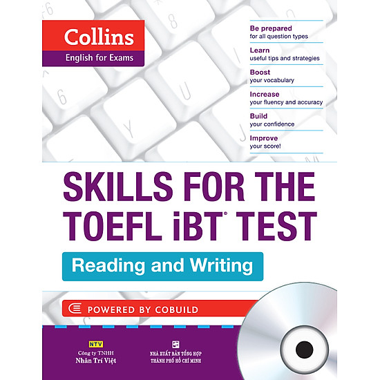 Collins Skills For The TOEFL iBT Test – Reading And Writing (Kèm CD)