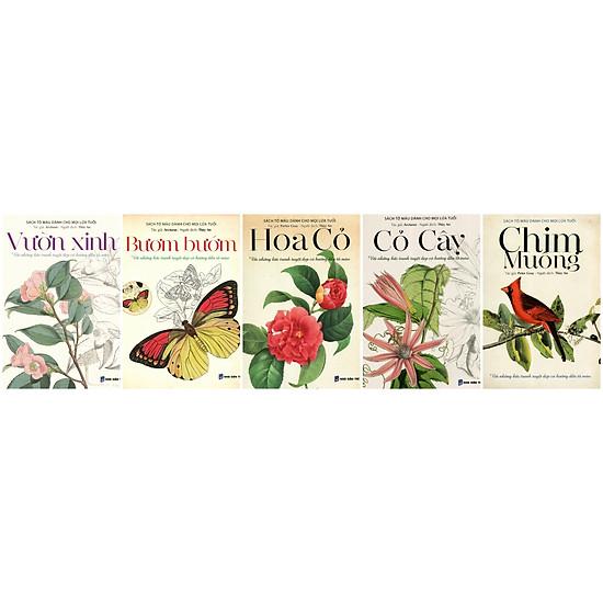 Combo 02 Sách Tô Màu Dành Cho Tuổi Mới Lớn (Trọn Bộ 5 Cuốn)