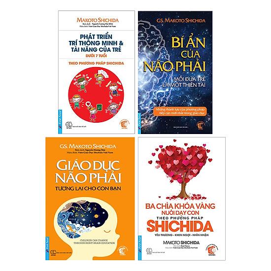 Combo 4 Cuốn Shichida
