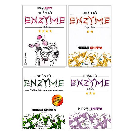 [Download Sách] Nhân Tố Enzyme (Trọn Bộ 4 Cuốn)