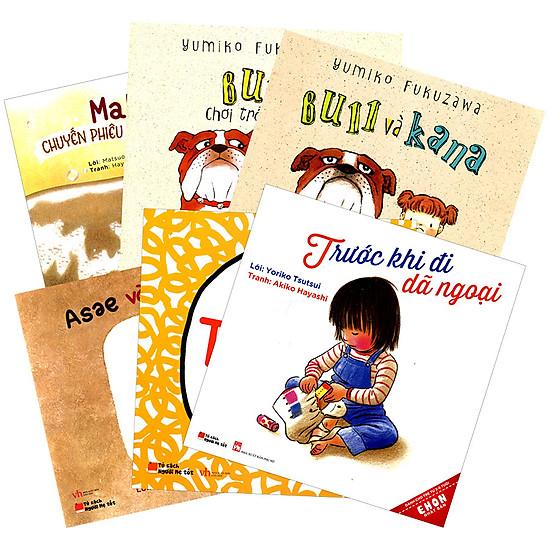 Combo Ehon Nhật Bản Dành Cho Trẻ Từ 3 - 6 Tuổi - Tặng Kèm Sách Người Mỹ Giúp Con Ham Đọc Sách
