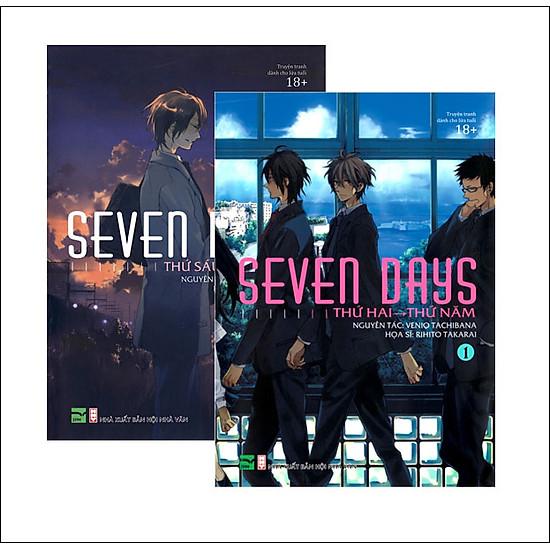Combo Seven Days (Trọn Bộ 2 Tập) – Phiên Bản Thường