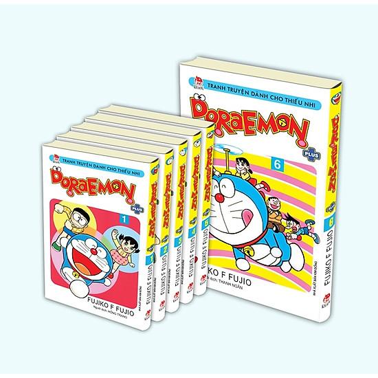 [Download Sách] Combo Doraemon Plus (Trọn Bộ 6 Tập) - Phiên Bản Bìa Gập
