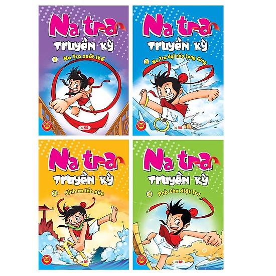 [Download Sách] Combo Natra Truyền Kỳ (Trọn Bộ 4 Cuốn)