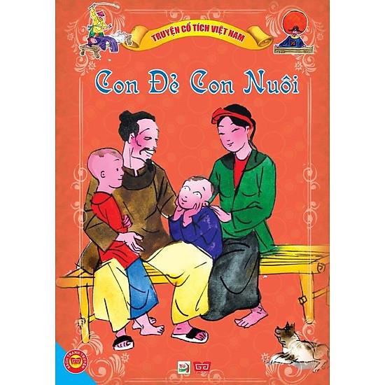 Download sách Truyện Cổ Tích Việt Nam - Con Đẻ Con Nuôi
