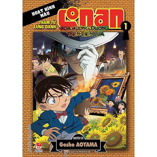 Thám Tử Lừng Danh Conan: Hoa Hướng Dương Trong Biển Lửa – Tập 1 (Màu)